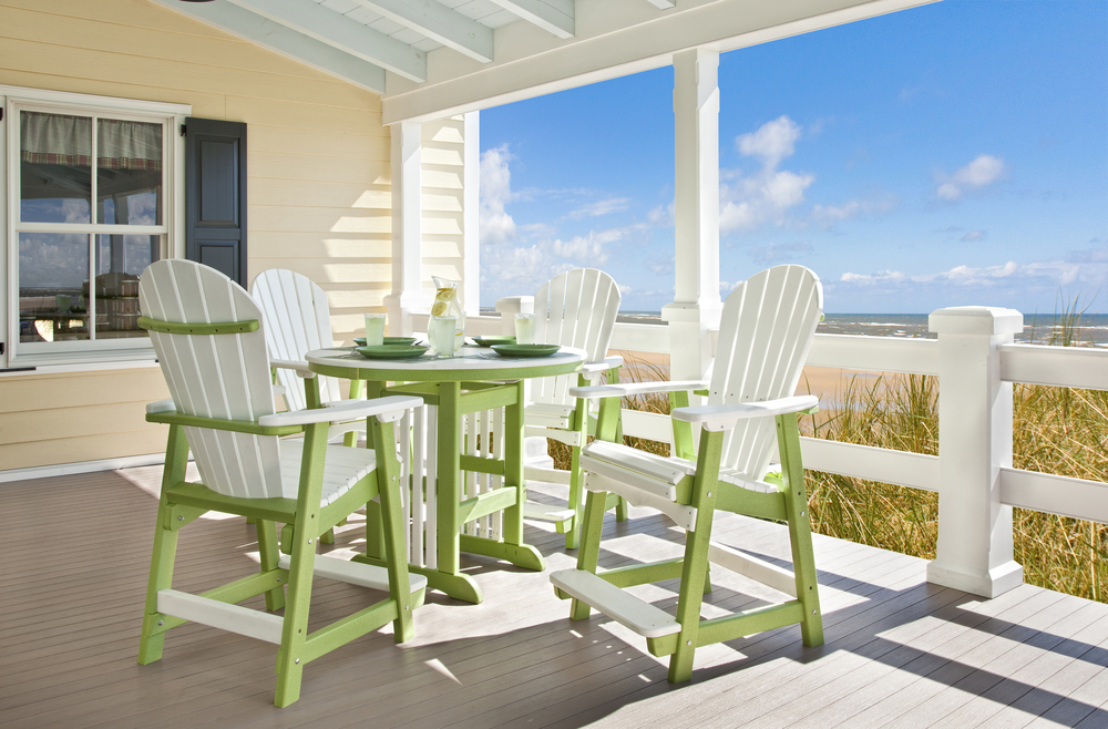 Poly Lumber High Top Table Set Howard Hill Furniture